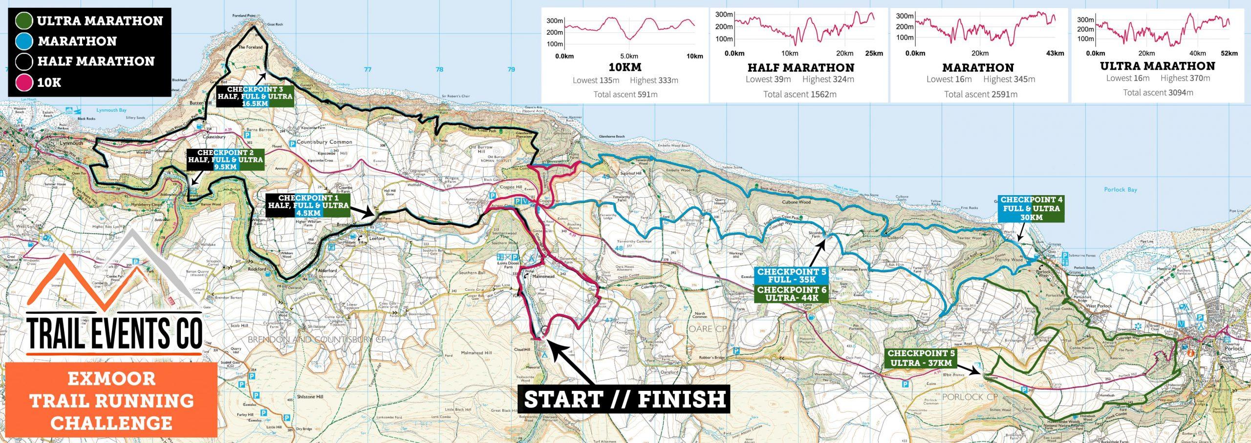 Exmoor Multi Route 2020