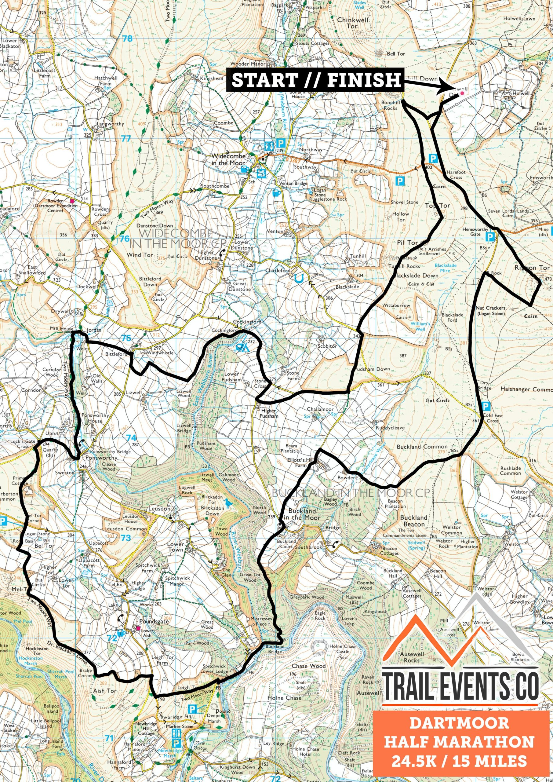 Dartmoor Half Marathon