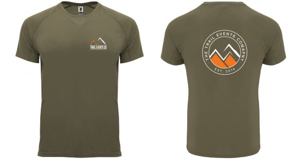 Trail Events Co Technical Tee - Green