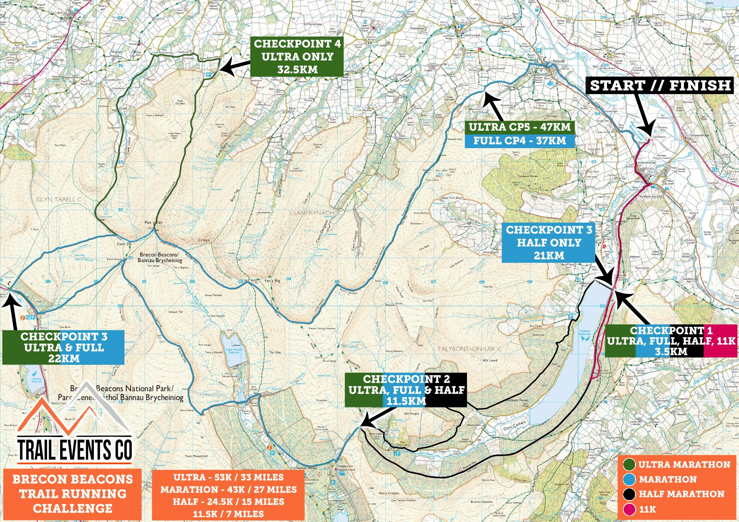 Brecon Beacons Multi Route