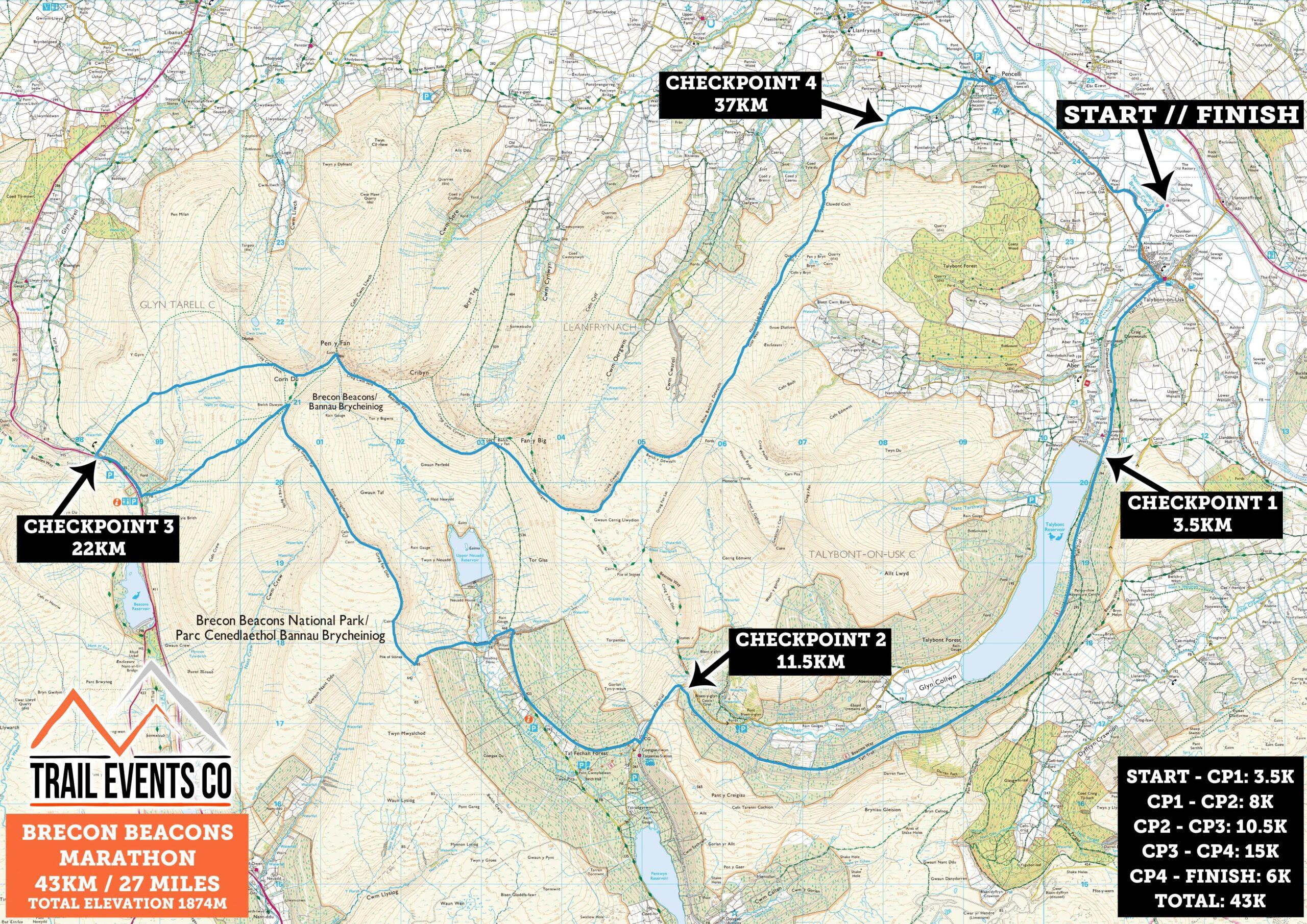 Brecon Beacons Marathon
