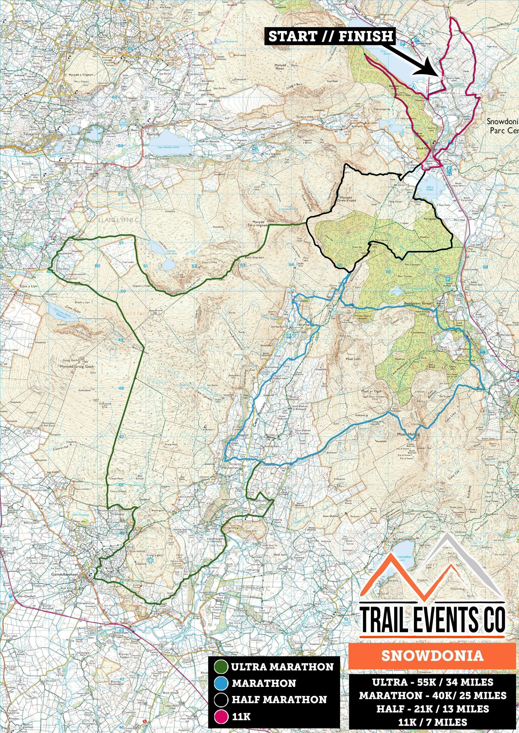 Snowdonia Multi Route